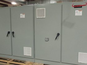 Automation and Controls 4-Bay Custom Control Cabinet