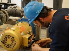 Industrial Electrical Contracting - Pump Wiring