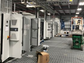 Electrical Conduit and Control Enclosure Installation